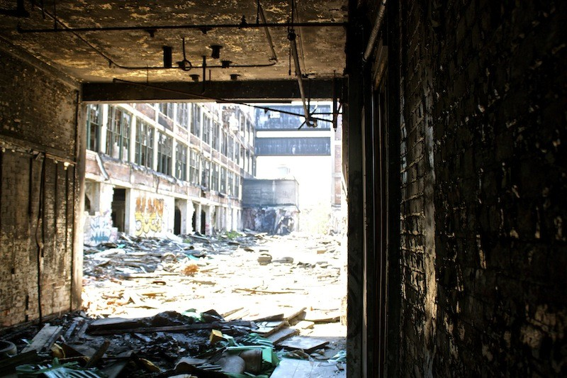 Packard Automotive Plant - Interior