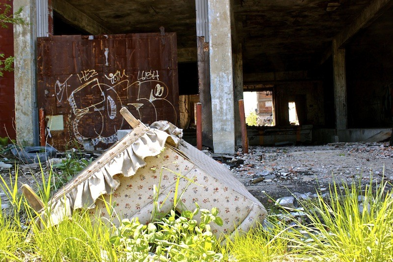 Packard Automotive Plant - Couch