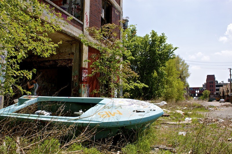 Packard Automotive Plant - Boat