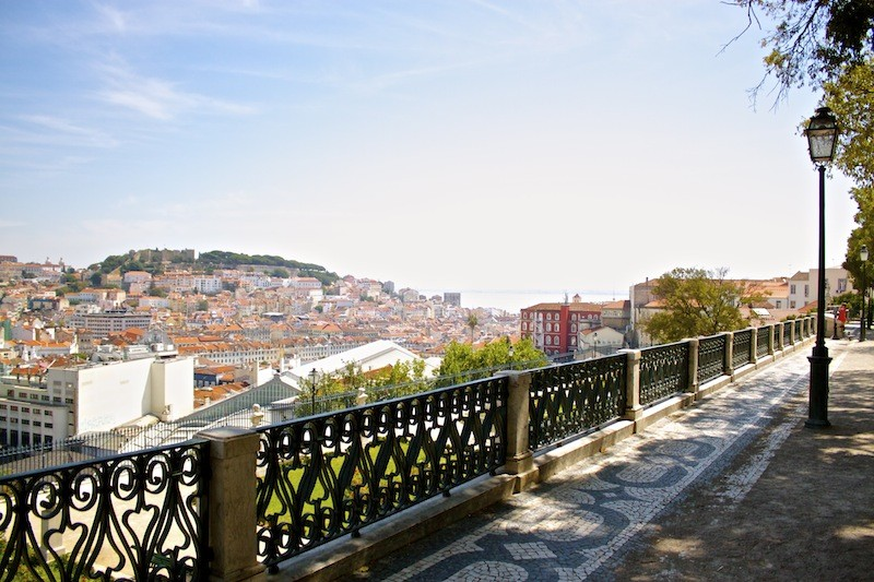 A Walking Tour of Lisbon