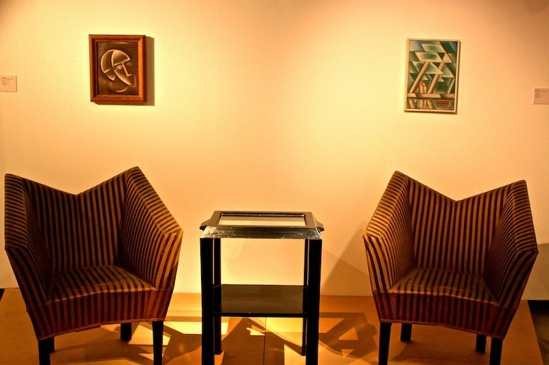 cubism furniture. museum of czech cubism furniture