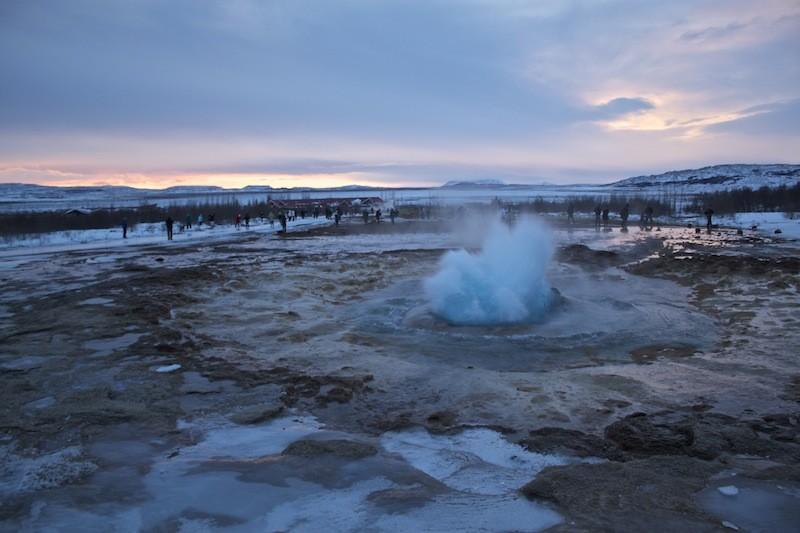 Geysir Geothermal Field in Iceland - Beauty
