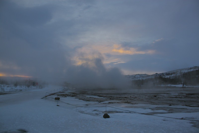 Geothermal Area Golden Circle