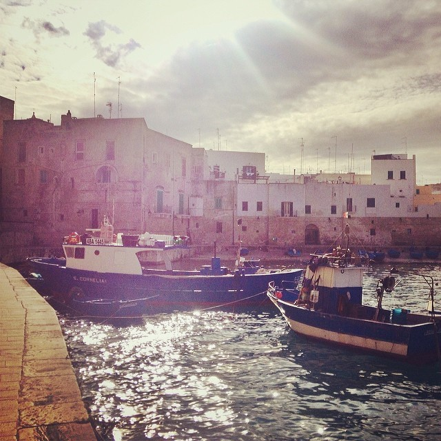 Monopoli Harbour Area