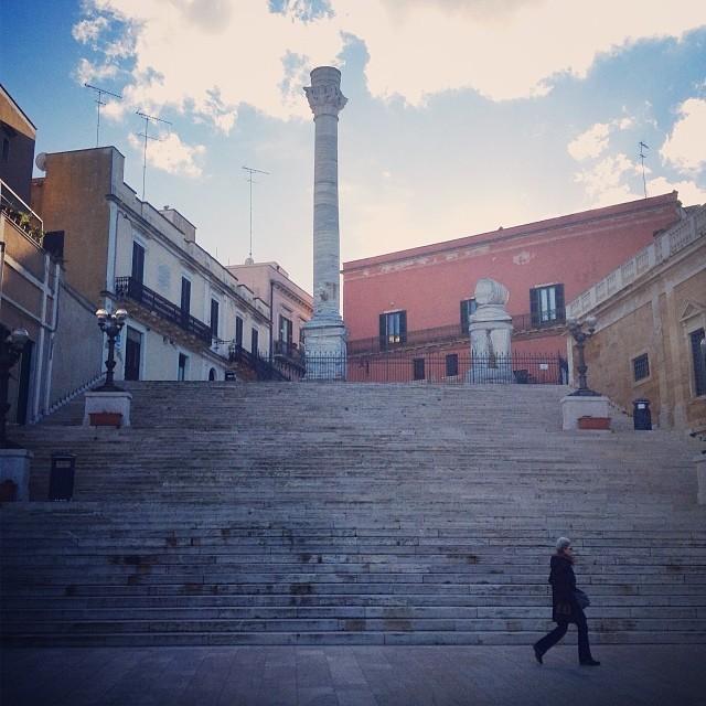 Reasons to Visit Brindisi - Roman Column in Brindisi