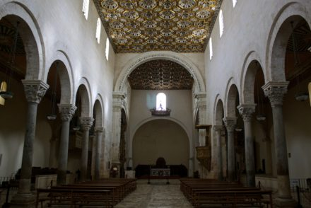 Cathedral of Santa Maria Annunziata in Otranto Interior