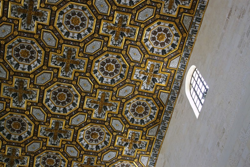 Cathedral of Santa Maria Annunziata in Otranto Interior Ceiling