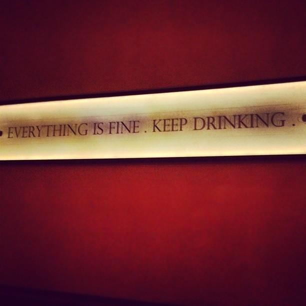 Drinking is Fine