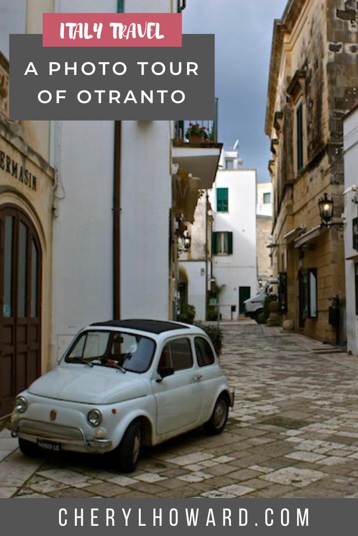 Otranto Italy Pin