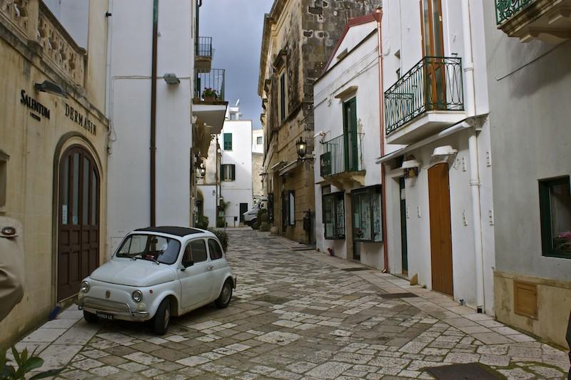 Otranto Italy - Streets of Otranto