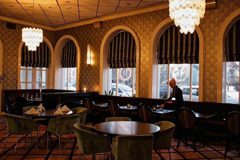 Hótel Borg In Reykjavík - Restaurant Art Deco