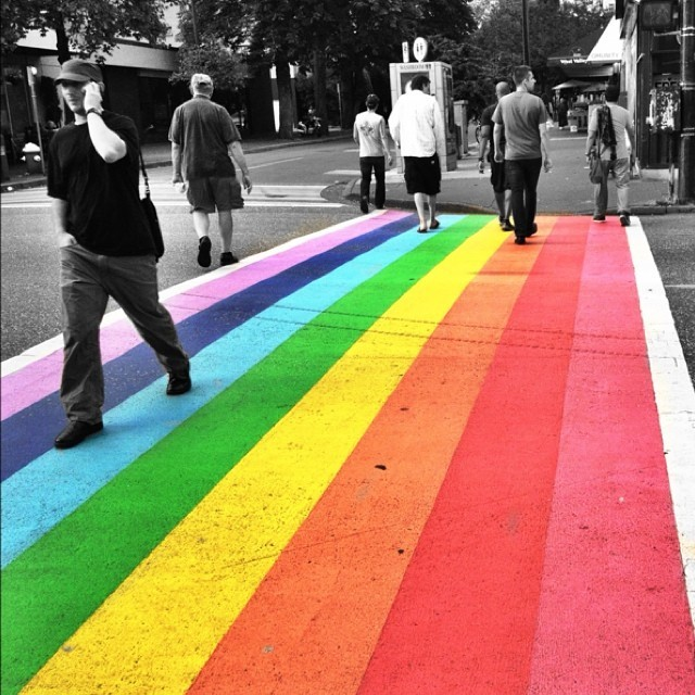 Pride Colours in Vancouver
