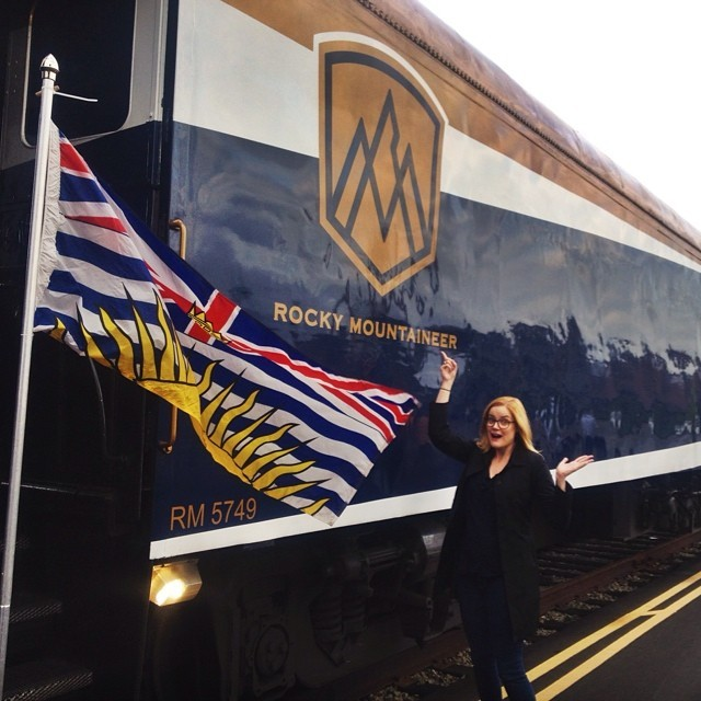 Rocky Mountaineer in Vancouver