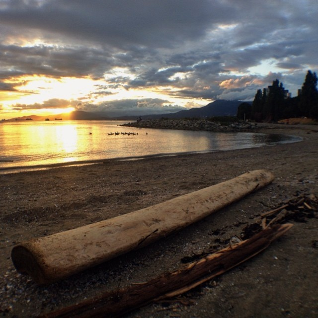 Sunset Beach in Vancouver
