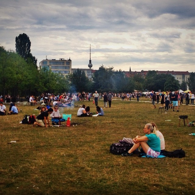 Hanging Out at Berliner Mauerpark.
