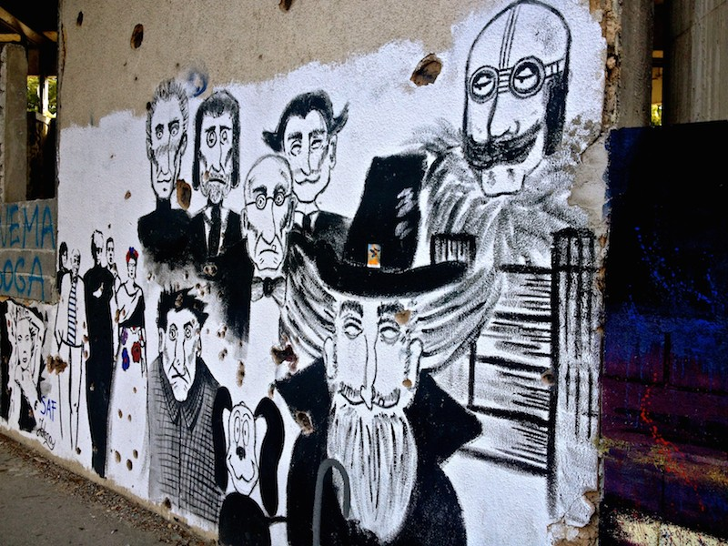 Street Art and Graffiti in Mostar, Bosnia - Artists