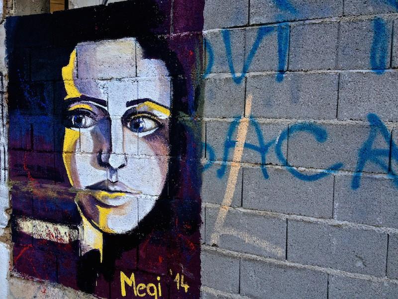 Mostar Street Art - Beautiful Woman