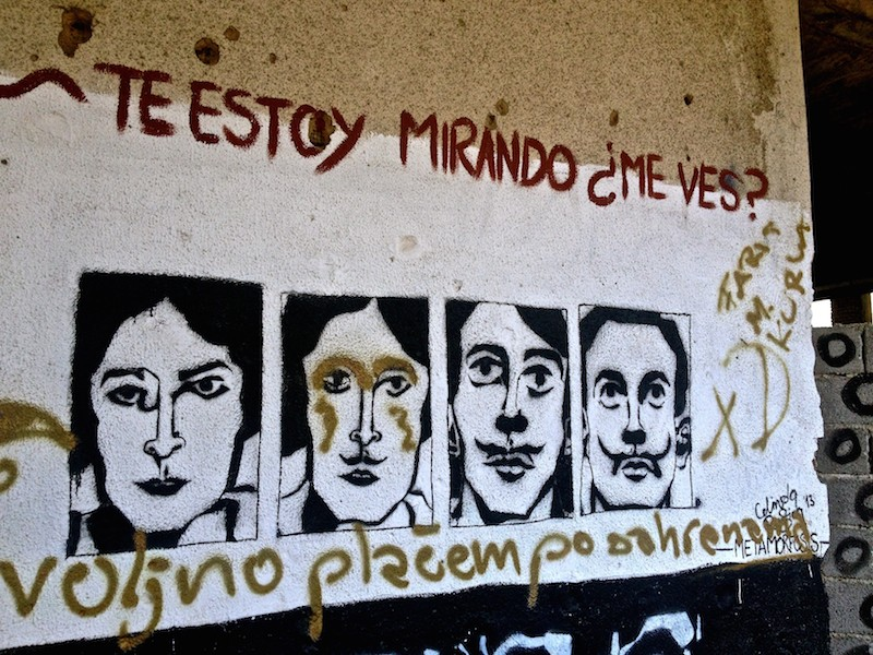 Mostar Street Art - Faces