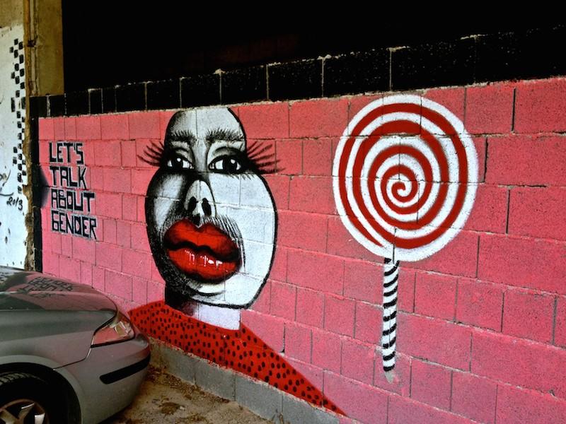 Street Art and Graffiti in Mostar, Bosnia - Talk About Gender