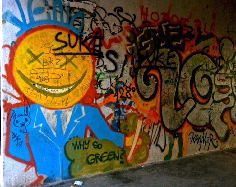 Mostar Street Art - Why Go Green
