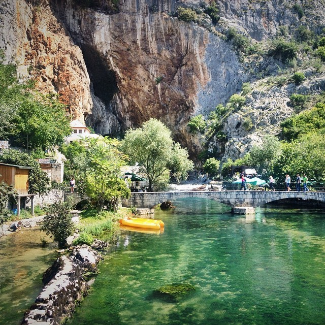 Blagaj Holy Site in Bosnia