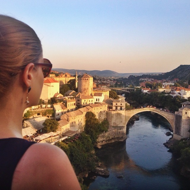 Visit Mostar, Bosnia and Herzegovina - Cheryl Howard Stari Most in Mostar
