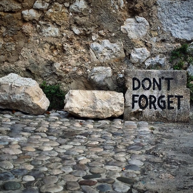 Visit Mostar, Bosnia and Herzegovina - Dont't Forget Sign in Mostar Bosnia