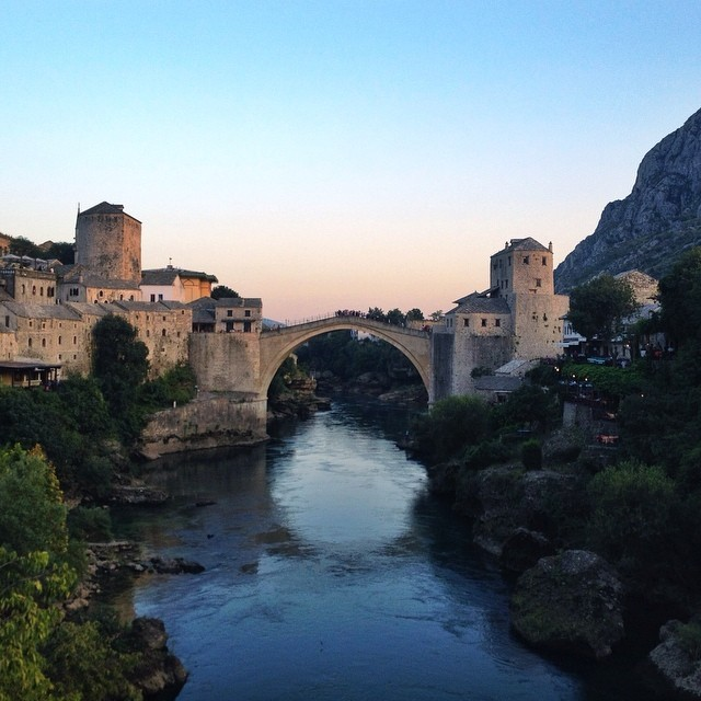 Visit Mostar, Bosnia and Herzegovina - Stari Most in Mostar