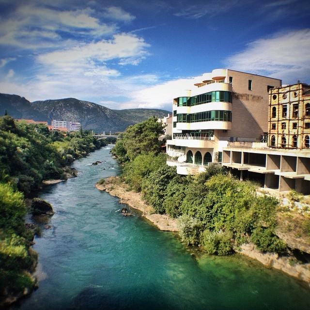 Visit Mostar, Bosnia and Herzegovina - Tito's Palace And Neretva River