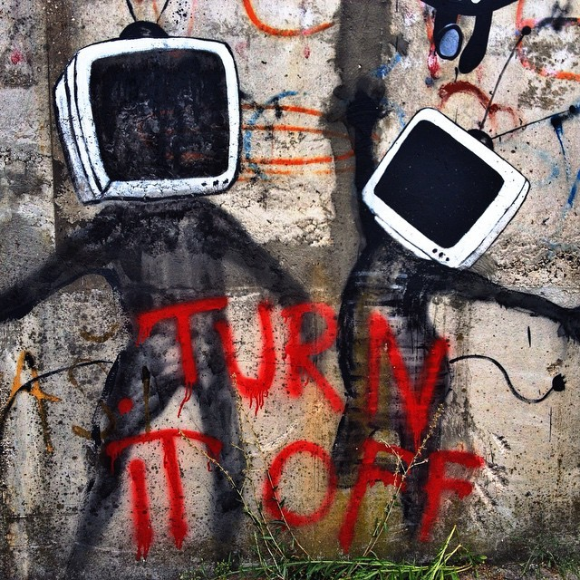 Visit Mostar, Bosnia and Herzegovina - Turn It Off Street Art in Mostar