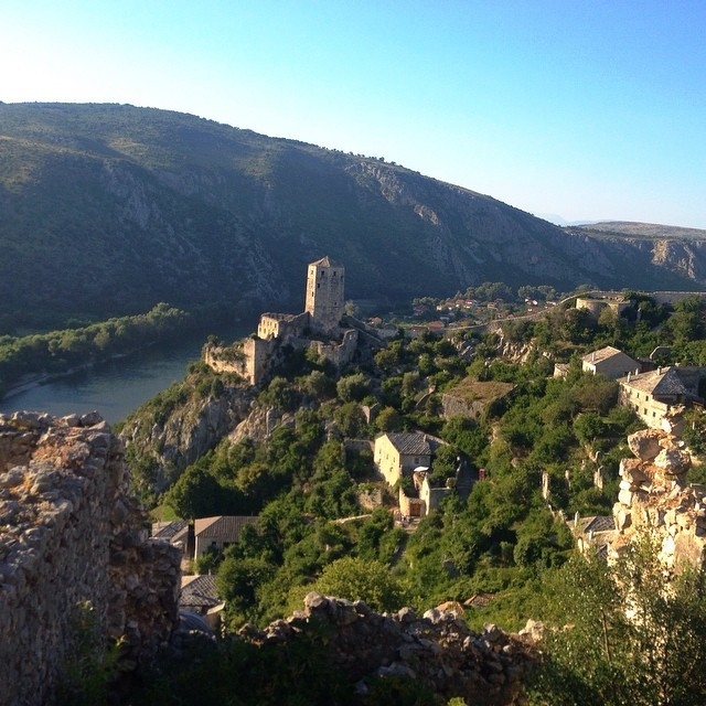 Visit Mostar, Bosnia and Herzegovina - View of Castle at Pocitelj Bosnia