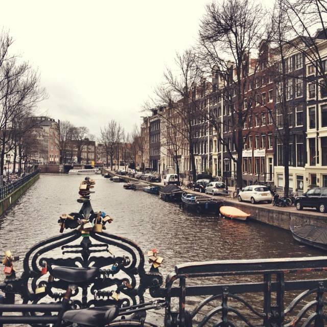 Amsterdam Photos Lovelocks in Amsterdam