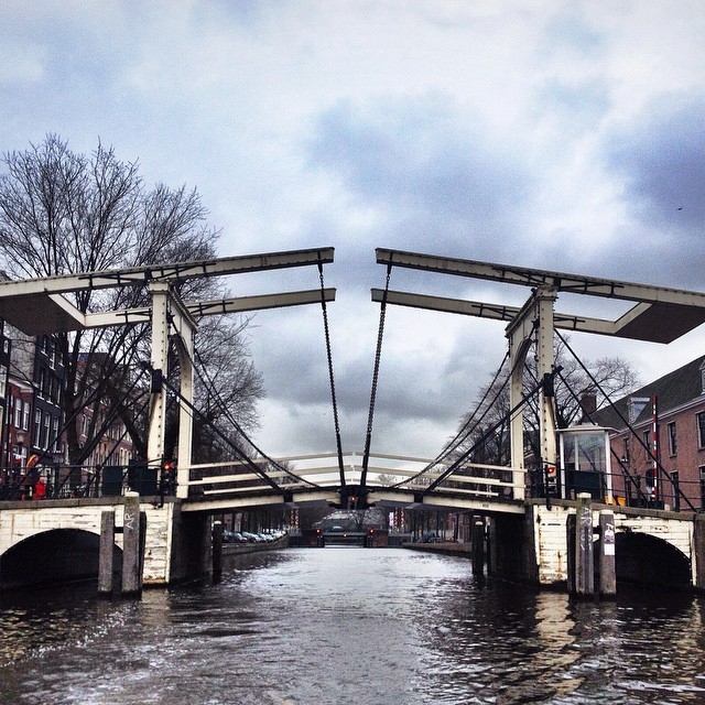 Amsterdam Photos Skinny Bridge in Amsterdam