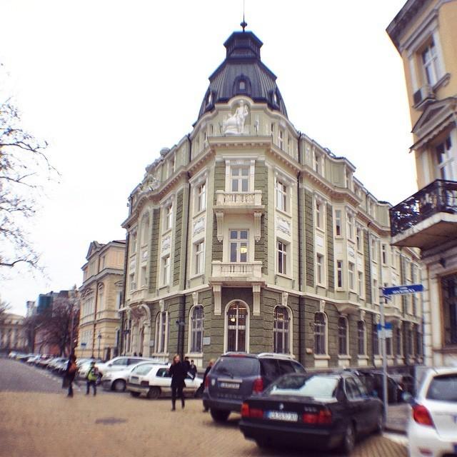 Architecture in Sofia Bulgaria Residential Home