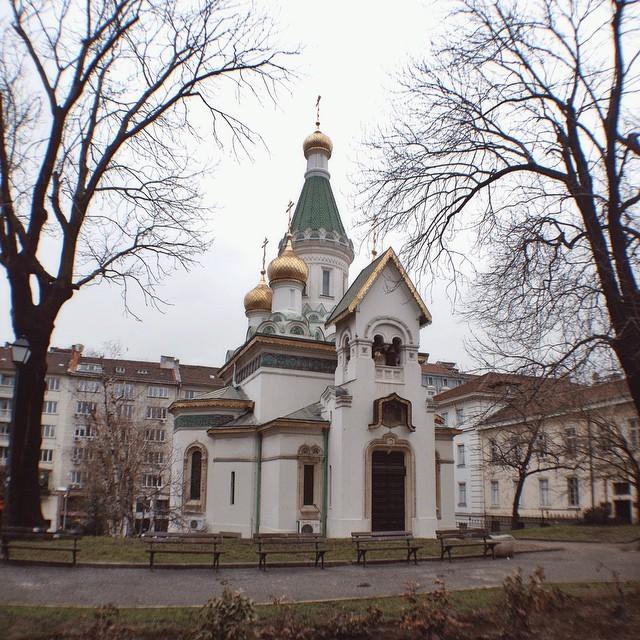 Russian Orthodox Church in Sofia Bulgaria