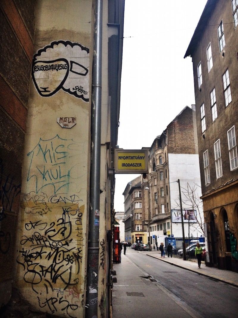 Sheepist Street Art in Budapest