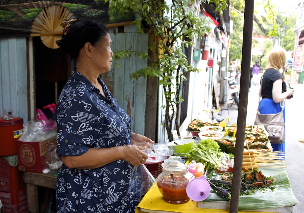 Bangkok Street Food Vendor