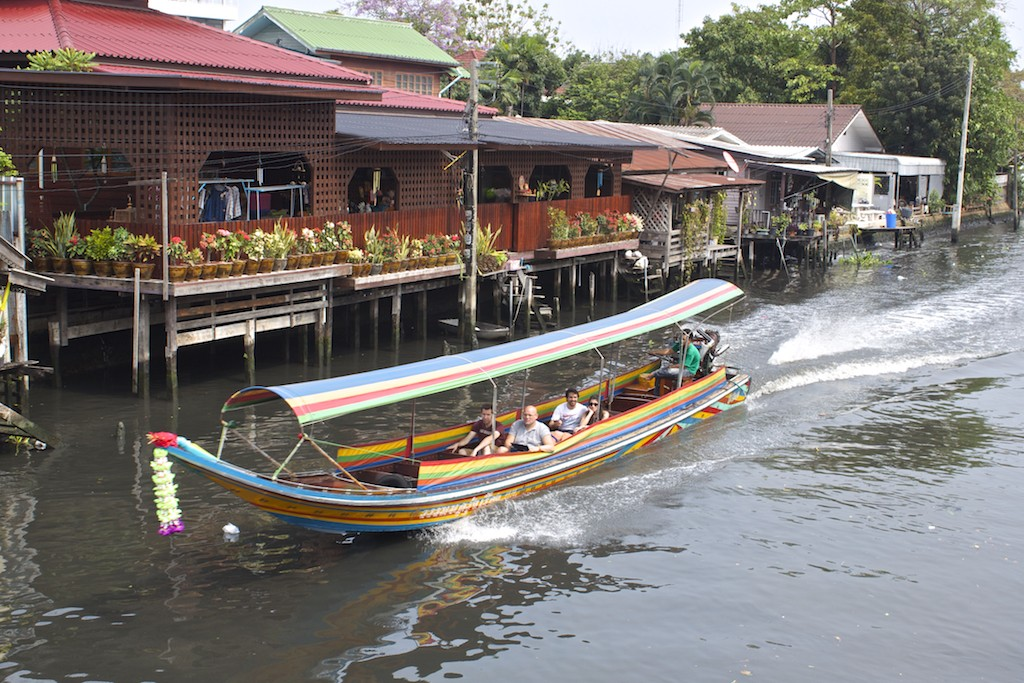 Boating Along Bangkok's Canals Klong Bang Luang Artist House Bangkok