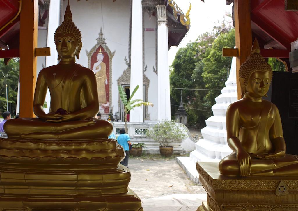 Buddhas at Wat Kampaeng in Bangkok