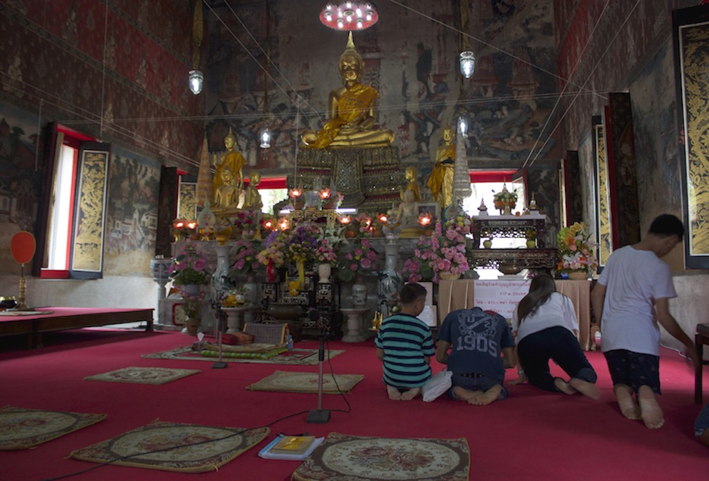 Interior Wat Kampaeng Thailand
