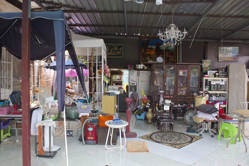 Scenes fom Klong Bang Luang Artist House Bangkok