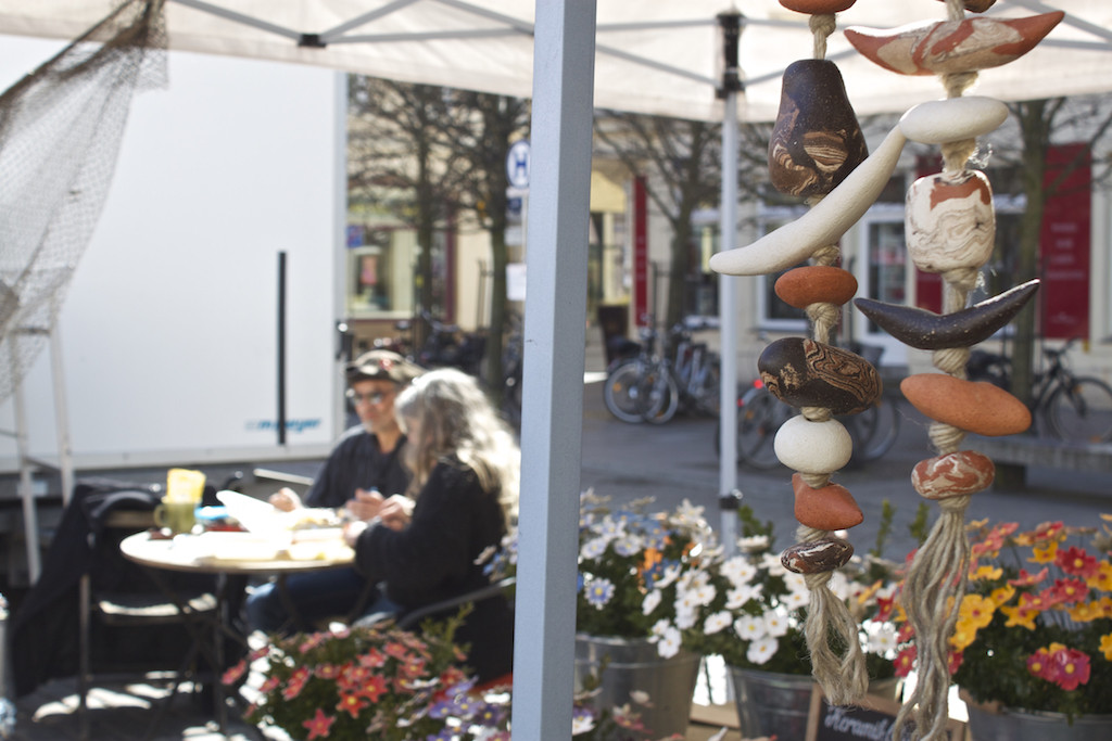 Schwerin Photos - Eating at Market Square