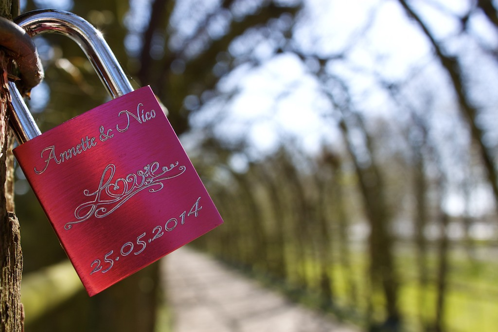 Schwerin Photos - Love Locks in the Schlossgarten
