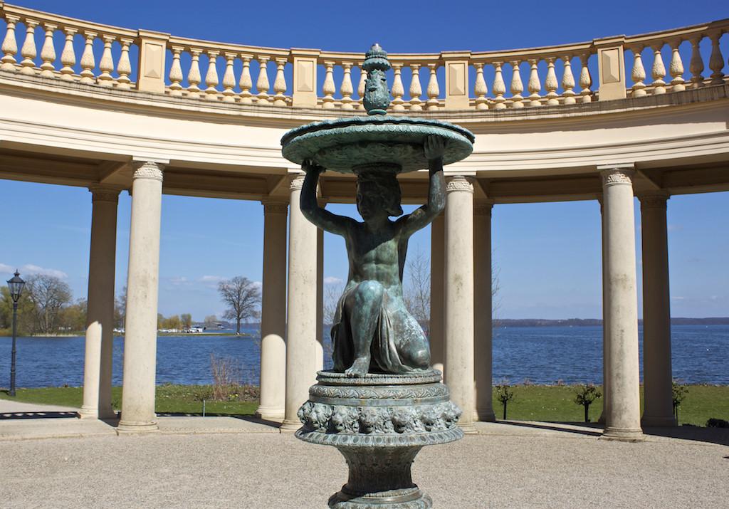 Schwerin Photos - Palace Orangerie Statue