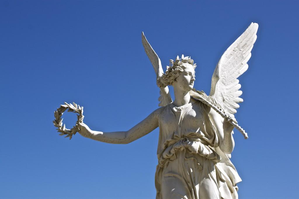 Schwerin Photos - Palace Orangerie Statue Angel