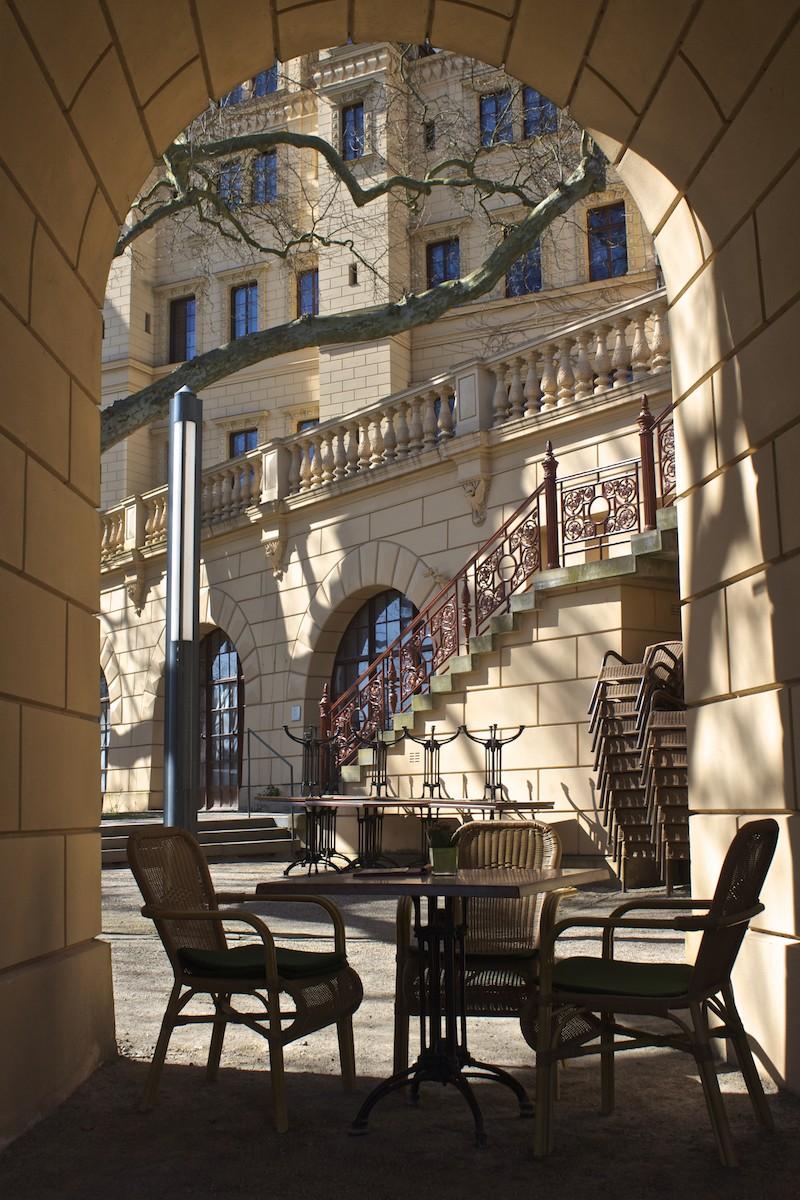 Schwerin Photos - Palace Orangerie Terrace Cafe Nook