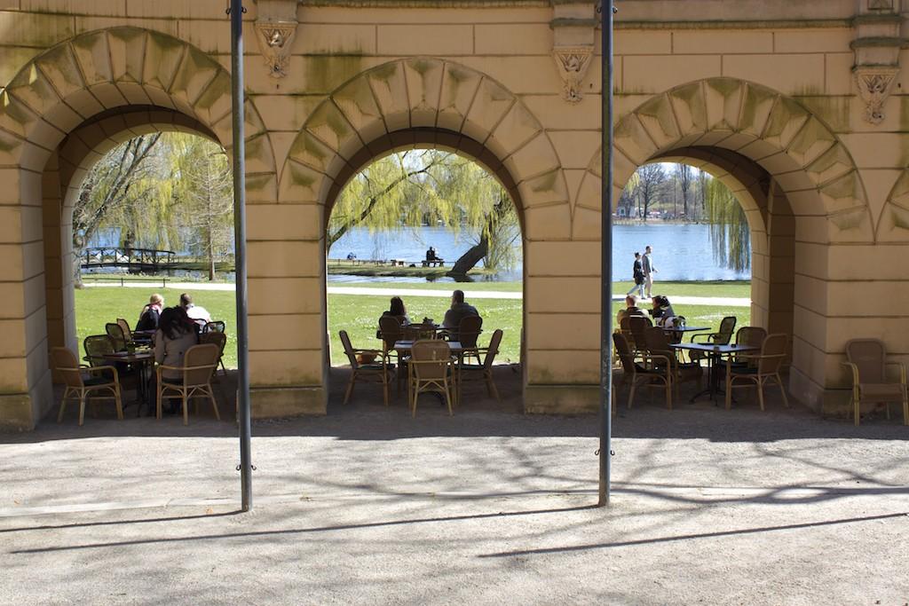 Schwerin Photos - Palace Orangerie Terrace Cafe