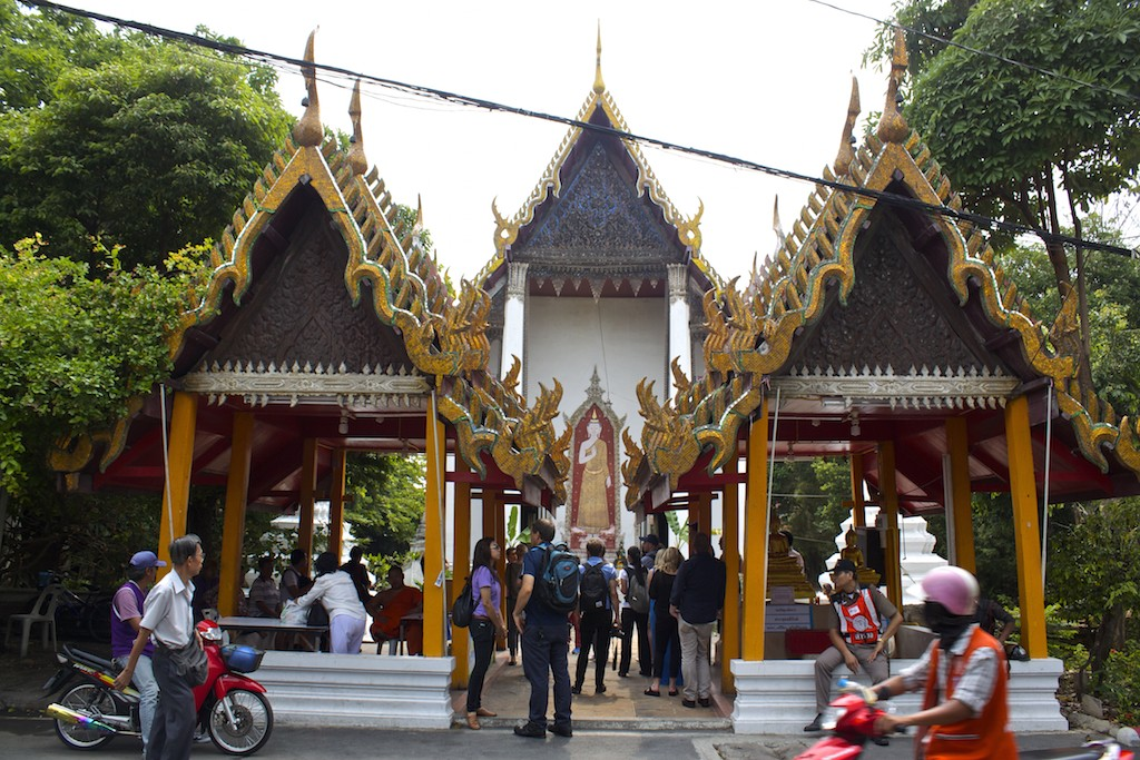 Wat Kampaeng Buddhist Temple in Bangkok