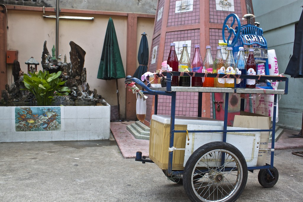 Bangkok Chinatown - Drink Cart