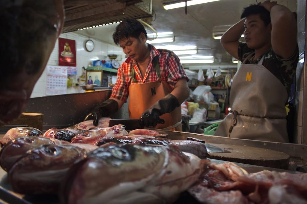 Bangkok - Fish Stand